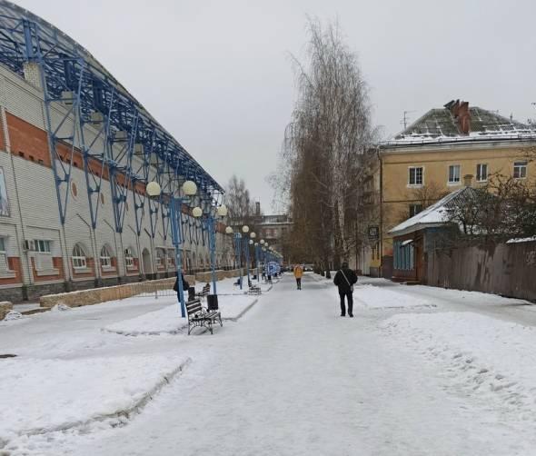 После оттепели Брянск снова оказался в ледяном плену