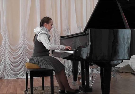 Юная брянская пианистка стала лауреатом всероссийского конкурса