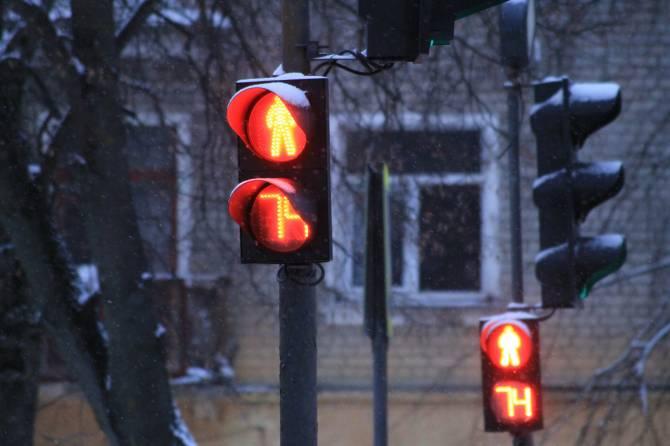 В Брянске на улице Горбатова отключился светофор