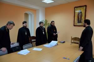 В Клинцах прошло первое заседание обновленного епархиального суда