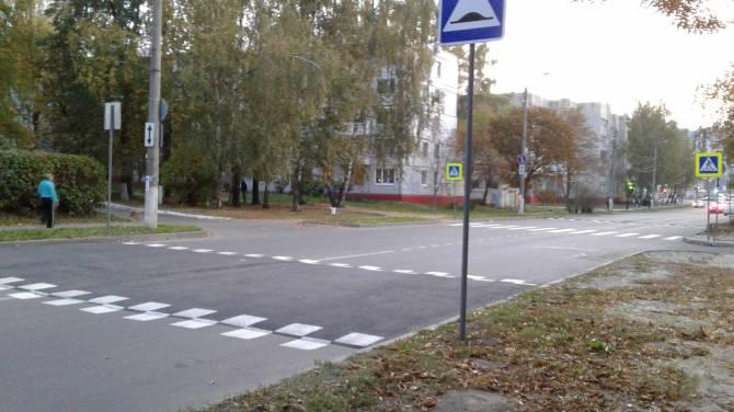 В Брянске на переулке Пилотов появился «лежачий полицейский»