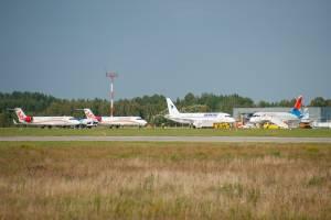 В аэропорту «Брянск» произошла уникальная ситуация