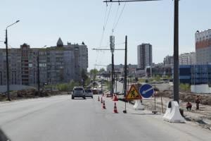 В Брянске ограничение движения по улице Объездной продлили до 24 мая