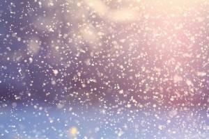 В Брянске вечером 8 апреля пошел снег