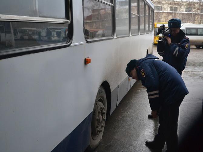 В Почепе пройдут сплошные проверки автобусов