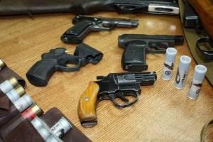 У брянцев изъяли 11 единиц огнестрельного оружия