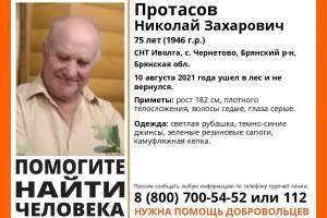 В Брянской области разыскивают 75-летнего Николая Протасова