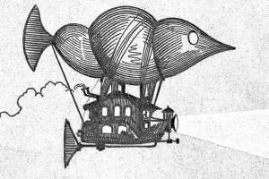 Брянцам предложили раскрасить иллюстрации Альбера Робида