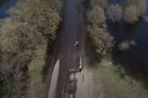 Деревня Сельцо оказалась окружена водой