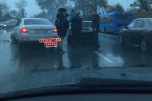В Брянске две легковушки попали в ДТП на улице Калинина