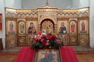 Брянский храм в селе Госома престольное торжество отметил крестным ходом
