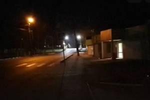 В Белых Берегах погрузился во тьму переход на улице Транспортной