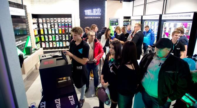 В Брянске открылся инновационный digital-салон Tele2
