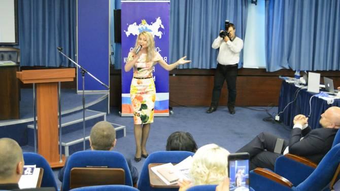 Брянская певица Сергия Шамбер подалась в политику