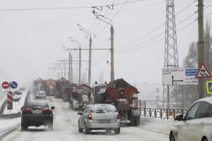 Из Брянска за сутки вывезли 2 500 тонн снега