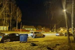В Супонево столкнулись две легковушки