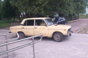 В Брянске сняли на фото автохама возле «Металлурга»