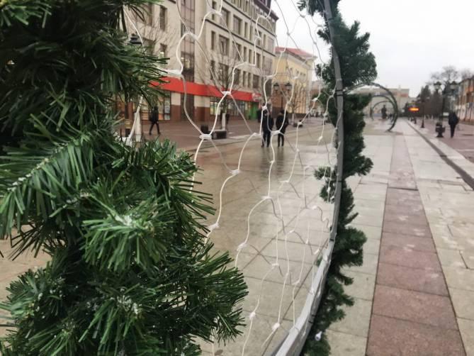 В Брянске на бульваре Гагарина установили «арки желаний»