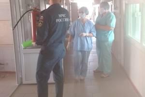 В Новозыбкове пожарные проверили коронавирусный госпиталь