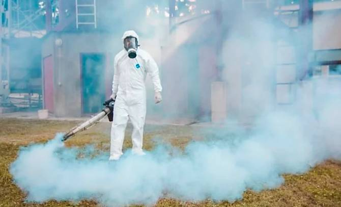 Брянцам предложили продезинфицировать дома из-за коронавируса