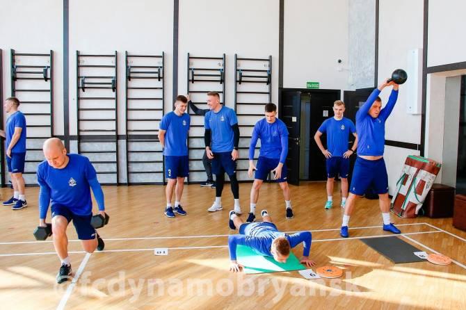 Брянское «Динамо» провело первую тренировку в Кисловодске