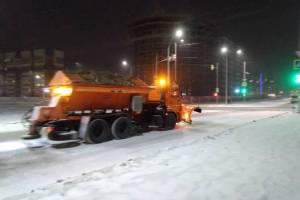 За два дня из Брянска вывезли 4800 тонн снега