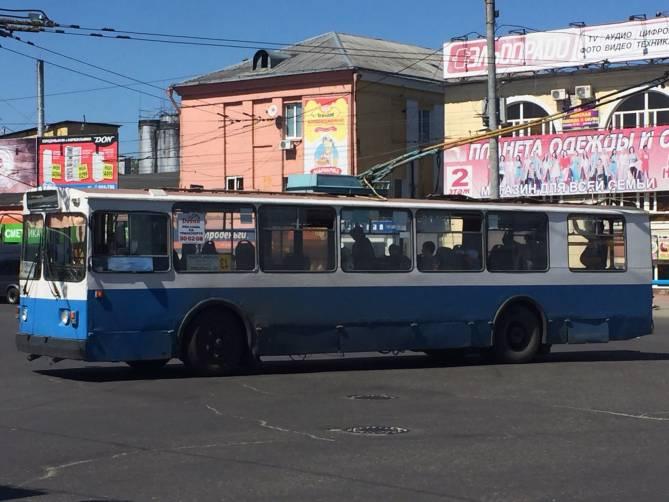 В Брянске вместо троллейбусов №13 пустят автобусы