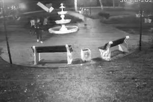 В Фокино вандалы разгромили отремонтированный фонтан