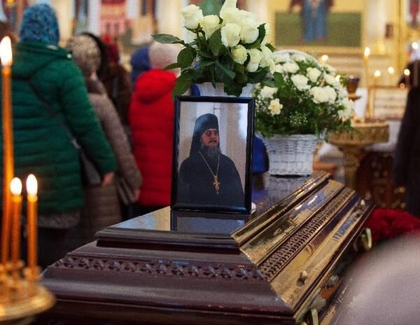 В Брянске простились с наместником Свенского монастыря Алексием
