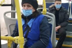 В Брянске многодетная мать обвинила кондуктора автобуса в вымогательстве
