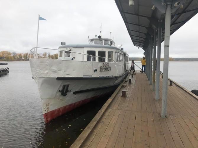 Брянцы нашли в Тверской области корабль с именем нашего города