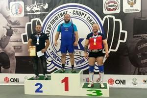 Брянец Дмитрий Апанасевич завоевал серебро на чемпионате ЦФО по пауэрлифтингу