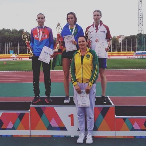 Брянская легкоатлетка взяла золото на Спартакиаде молодежи России