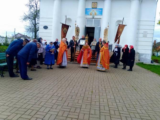 В Брянске память Георгия Победоносца почтили крестным ходом