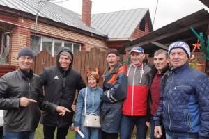 Брянцы встретились с лыжником Александром Большуновым