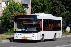 В Брянске увеличили количество автобусов № 11