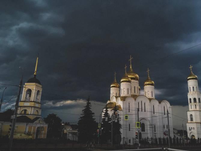 На Брянск надвигается буря