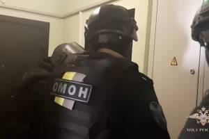 В Брянской области ОМОН повязал лжебанкиров