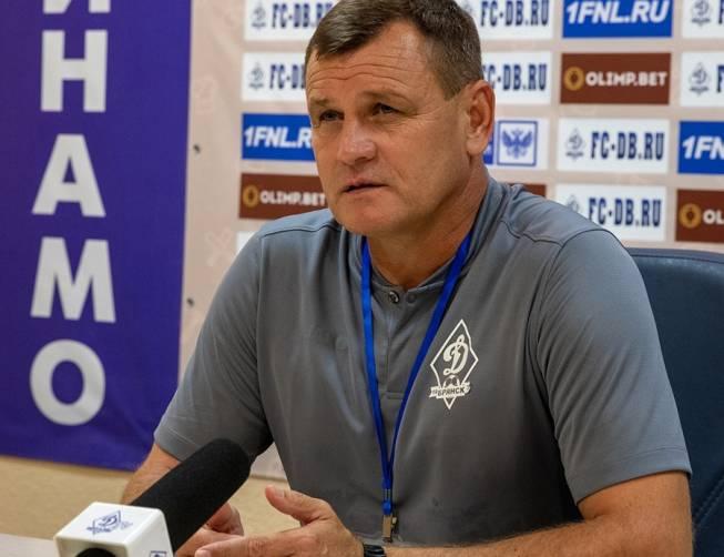 Главный тренер брянского «Динамо» рассказал о потере формы подопечными