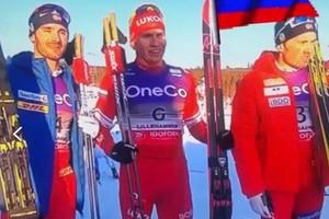 Брянский лыжник Большунов убежал от двух норвежцев