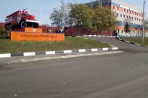 В Брянске торжественно открыли новую пожарную часть