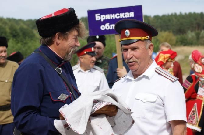 Брянские казаки пригласили на День открытых дверей