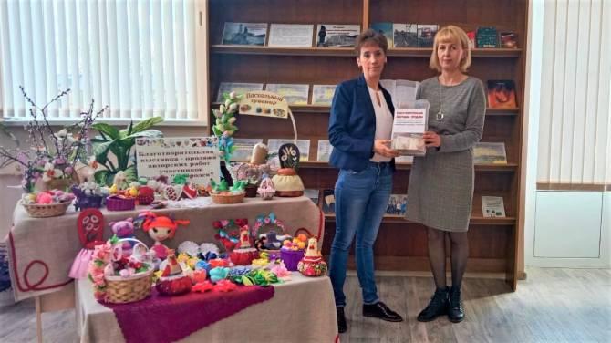 В Почепе на благотворительной выставке-продаже собрали 3600 рублей