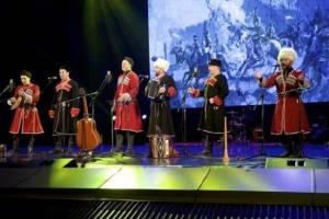 В Брянске впервые дал концерт казачий ансамбль «Пересвет»