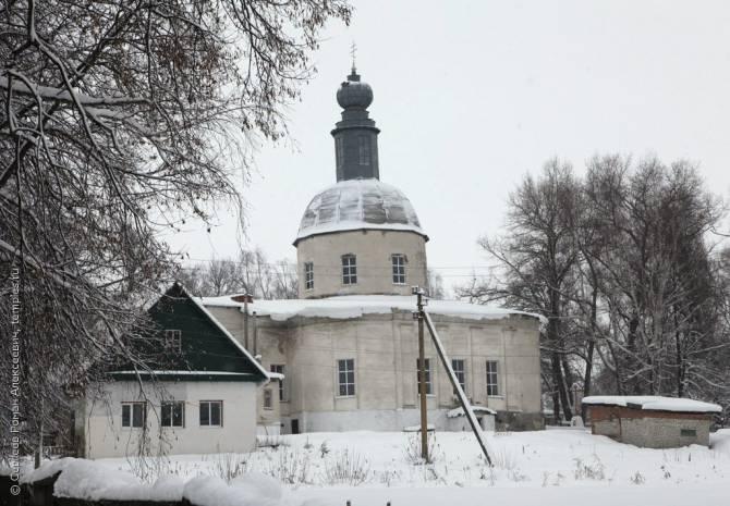 В брянском селе Брасово отреставрируют храм Василия Великого