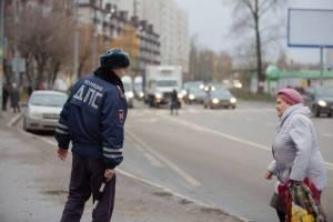 В двух районах Брянска поймали 55 бессмертных пешеходов