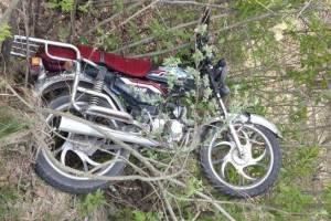 На брянской трассе перевернулся и разбил голову 37-летний мотоциклист