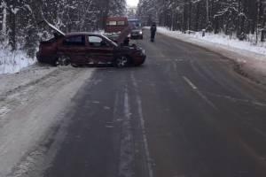 В аварии под Клинцами ранены три человека