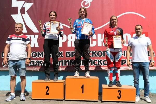 Брянская велосипедистка Татьяна Капитанова выиграла бронзу на Кубке России
