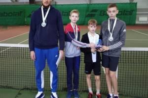 Юные брянские теннисисты заняли 3-е место на первенстве ЦФО